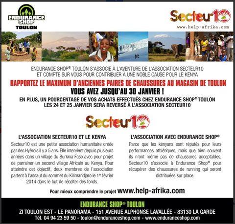 Endurance Shop La garde soutient secteur10