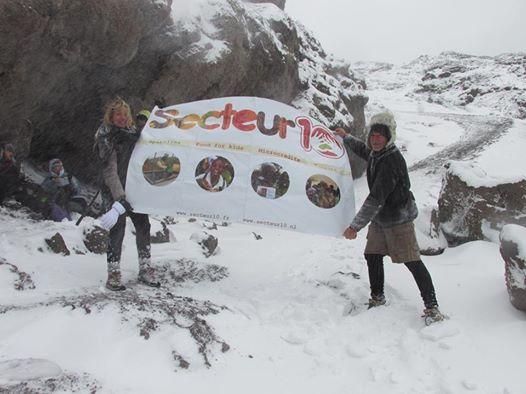 vlag secteur kilimanjaro