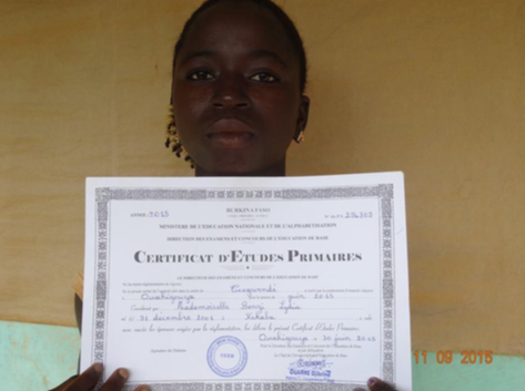 certificat etudes burkina