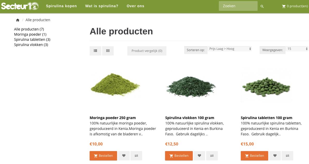 Fairmadespirulina.nl