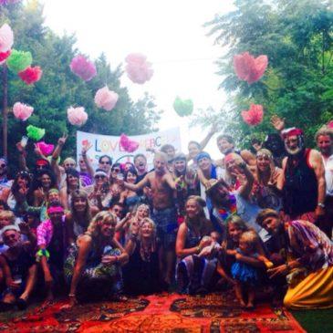 Hippie party 2014 brengt 2000€ op voor secteur10