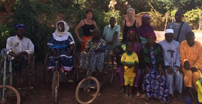 Nieuwe microkredietenin Burkina