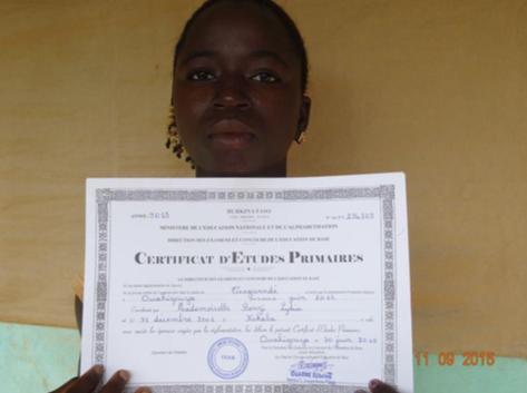 Wie sponsort een middelbare scholier in Ouahigouya